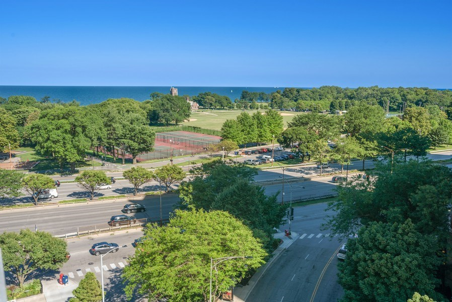 Real Estate Photography - 3900 N Lake Shore Drive, Unit 10E, Chicago, IL, 60613 - View