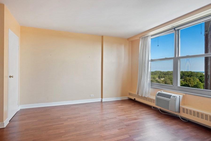 Real Estate Photography - 3900 N Lake Shore Drive, Unit 10E, Chicago, IL, 60613 - Bedroom