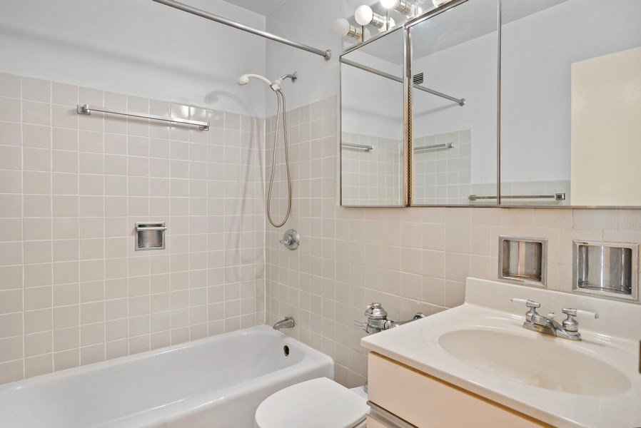 Real Estate Photography - 3900 N Lake Shore Drive, Unit 10E, Chicago, IL, 60613 - Bathroom