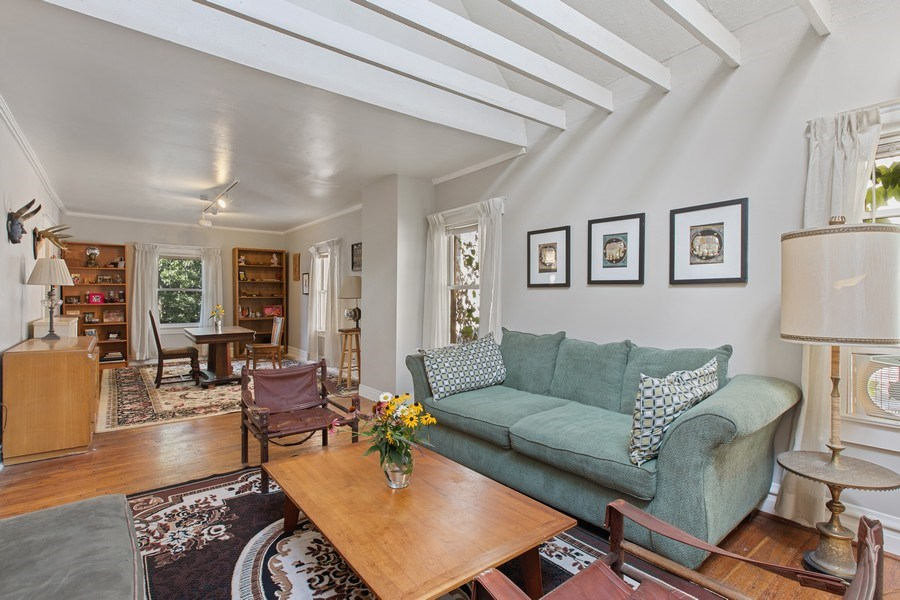 Real Estate Photography - 1623 W Estes Ave, Chicago, IL, 60626 - Living Room