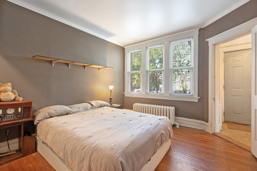 Real Estate Photography - 1623 W Estes Ave, Chicago, IL, 60626 - Bedroom
