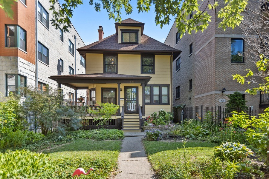 Real Estate Photography - 1623 W Estes Ave, Chicago, IL, 60626 - Front View