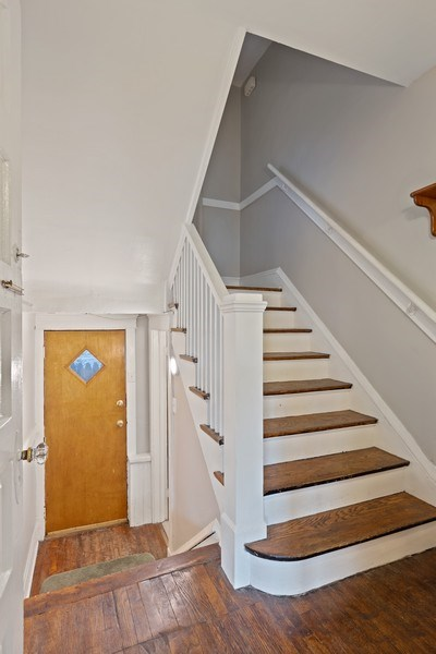 Real Estate Photography - 1623 W Estes Ave, Chicago, IL, 60626 - Staircase
