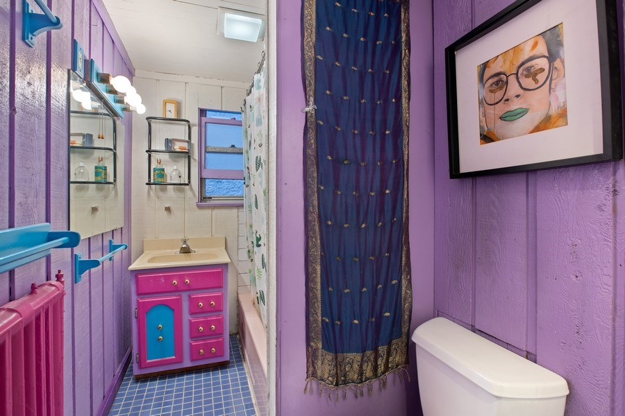 Real Estate Photography - 1623 W Estes Ave, Chicago, IL, 60626 - 2nd Bathroom