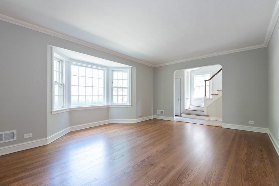 Real Estate Photography - 7836 Kildare, Skokie, IL, 60076 - Living Room