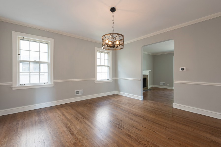 Real Estate Photography - 7836 Kildare, Skokie, IL, 60076 - Dining Room