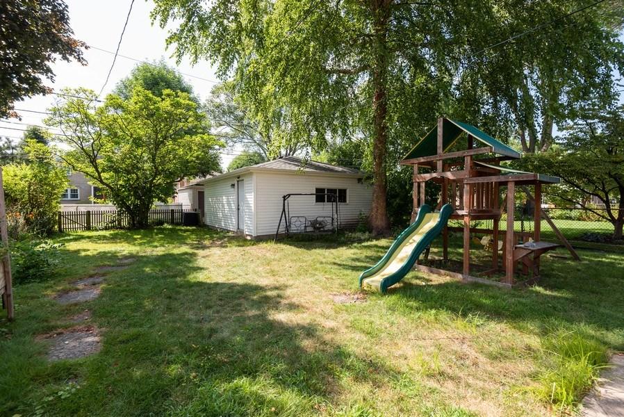 Real Estate Photography - 7836 Kildare, Skokie, IL, 60076 - Back Yard