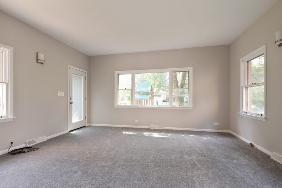 Real Estate Photography - 7836 Kildare, Skokie, IL, 60076 - Family Room