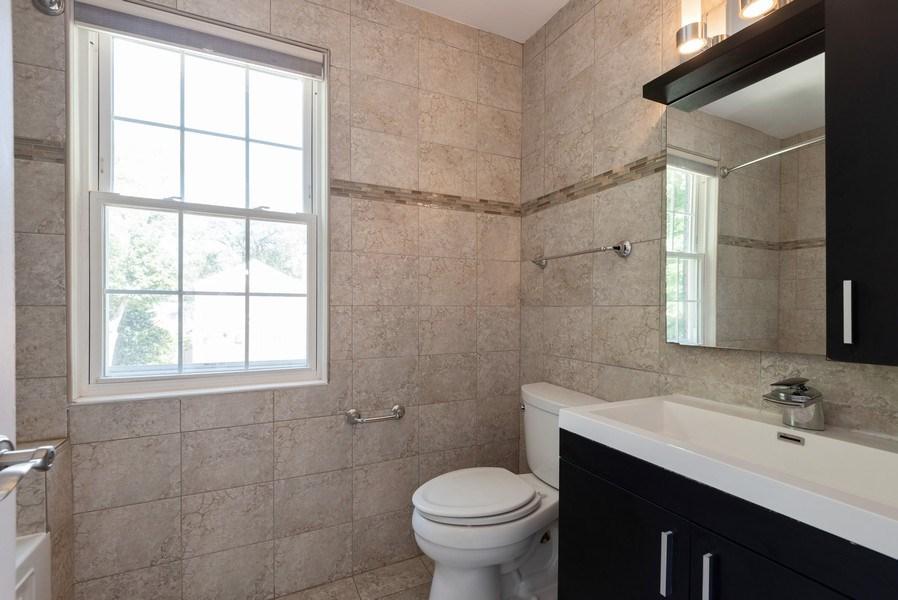 Real Estate Photography - 7836 Kildare, Skokie, IL, 60076 - Bathroom