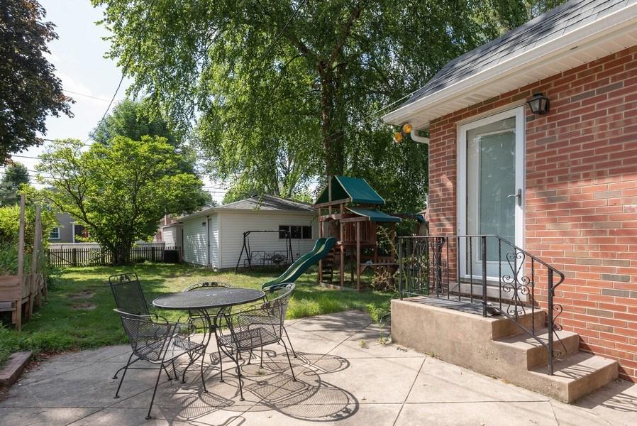 Real Estate Photography - 7836 Kildare, Skokie, IL, 60076 - Patio