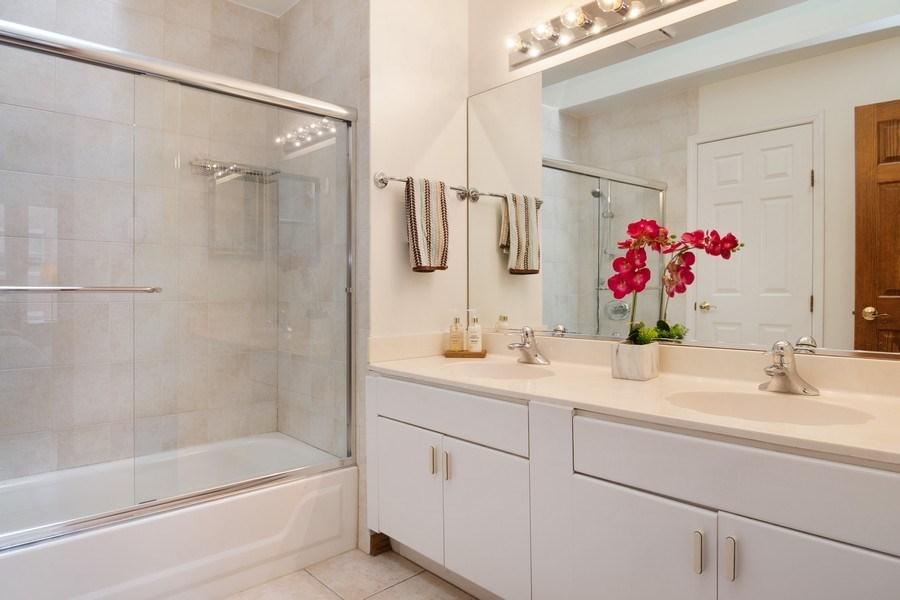 Real Estate Photography - 3350 Church St, Evanston, IL, 60203 - Master Bathroom