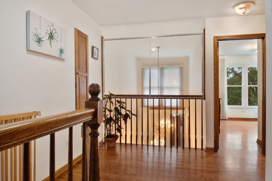 Real Estate Photography - 3350 Church St, Evanston, IL, 60203 - 2nd Floor Corridor