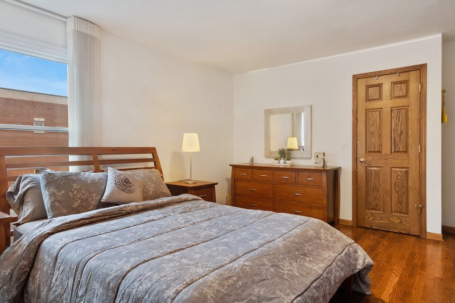 Real Estate Photography - 3350 Church St, Evanston, IL, 60203 - Master Bedroom