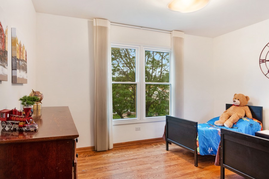 Real Estate Photography - 3350 Church St, Evanston, IL, 60203 - Bedroom