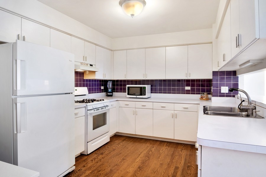 Real Estate Photography - 3350 Church St, Evanston, IL, 60203 - Kitchen