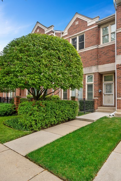 Real Estate Photography - 3350 Church St, Evanston, IL, 60203 - Front View