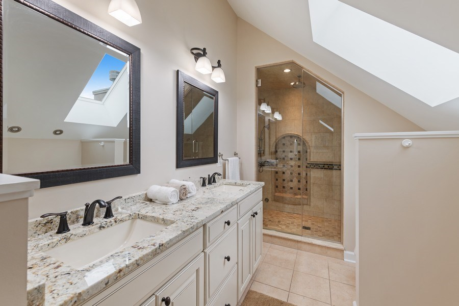 Real Estate Photography - 2632 N Wayne Ave, Unit 3, Chicago, IL, 60614 - Master Bathroom