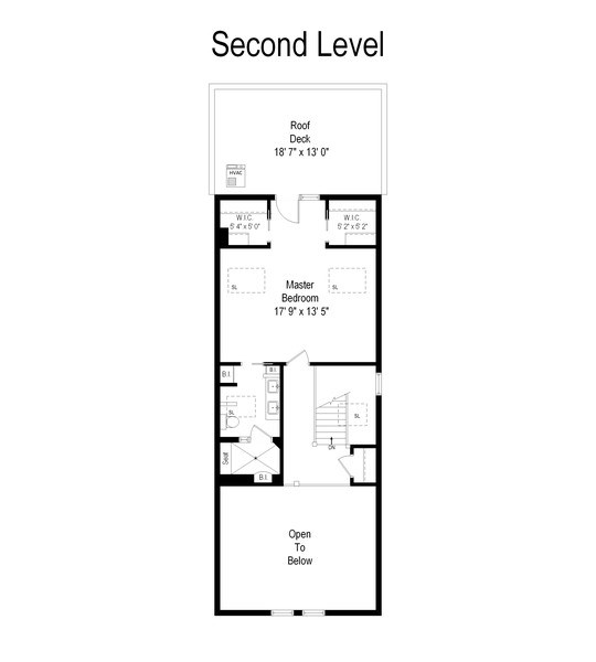 Real Estate Photography - 2632 N Wayne Ave, Unit 3, Chicago, IL, 60614 - Floor Plan