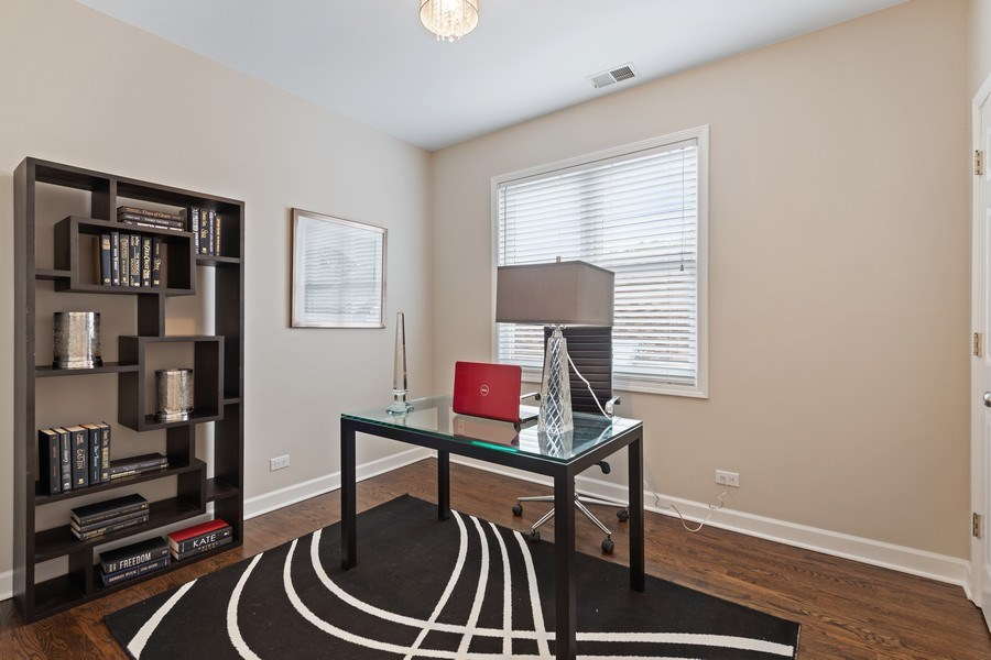 Real Estate Photography - 2632 N Wayne Ave, Unit 3, Chicago, IL, 60614 - Office