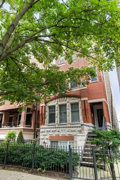 Real Estate Photography - 2632 N Wayne Ave, Unit 3, Chicago, IL, 60614 - Front View