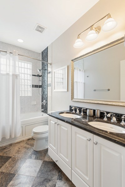 Real Estate Photography - 2632 N Wayne Ave, Unit 3, Chicago, IL, 60614 - 2nd Bathroom