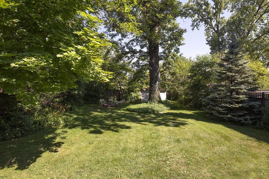 Real Estate Photography - 399 Jackson, Glencoe, IL, 60022 - Backyard