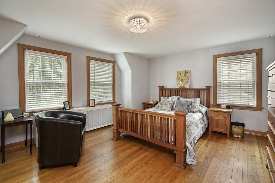 Real Estate Photography - 399 Jackson, Glencoe, IL, 60022 - Master Bedroom