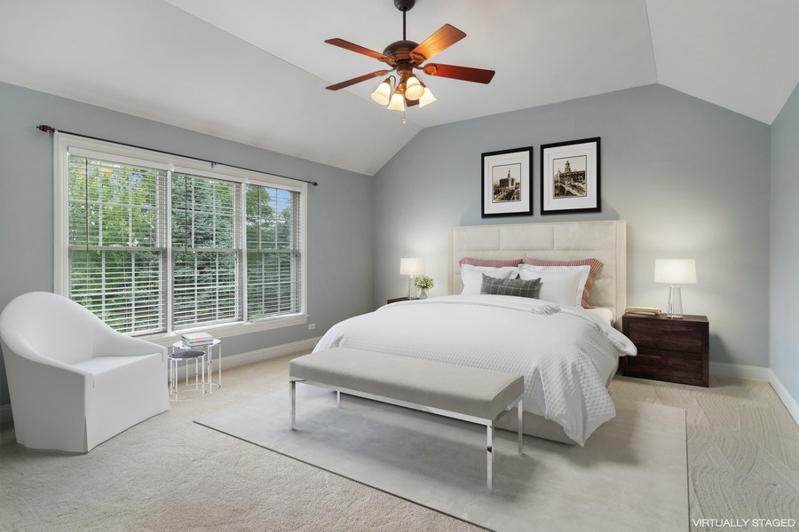 Real Estate Photography - 28385 W Harvest Glen Cir, Cary, IL, 60013 - Master Bedroom