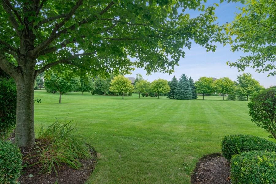 Real Estate Photography - 28385 W Harvest Glen Cir, Cary, IL, 60013 - Rear Yard