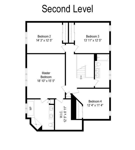 Real Estate Photography - 28385 W Harvest Glen Cir, Cary, IL, 60013 - Floor Plan