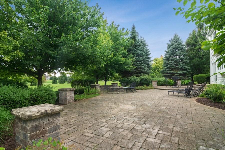 Real Estate Photography - 28385 W Harvest Glen Cir, Cary, IL, 60013 - Brick Paver Patio