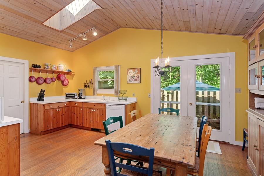 Real Estate Photography - 15616 Nannene, Union Pier, MI, 49129 - Kitchen/Dining Area