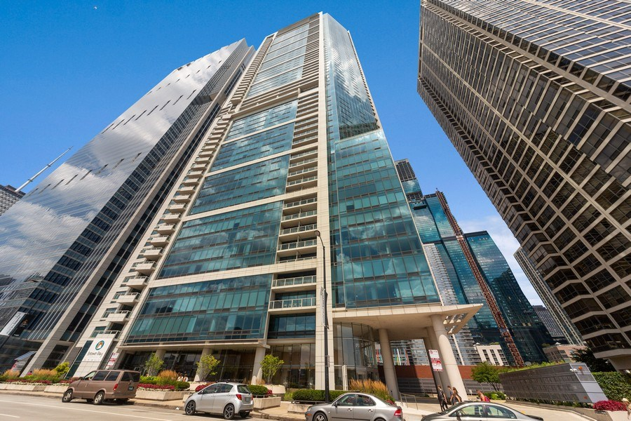 Real Estate Photography - 340 E Randolph St, Unit 2902, Chicago, IL, 60601 - Front View