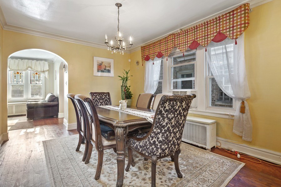Real Estate Photography - 3624 Wisconsin Ave, Berwyn, IL, 60402 - Dining Room