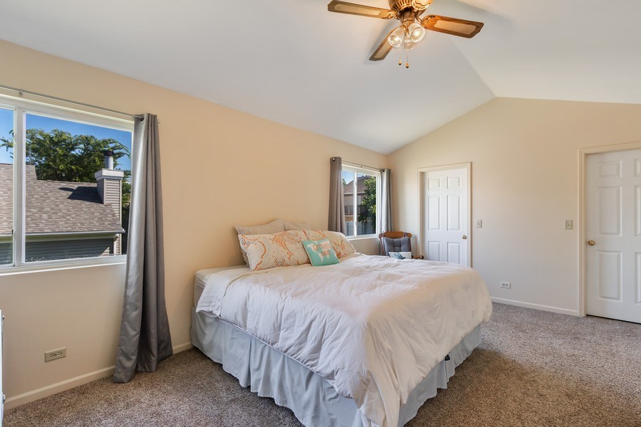 Real Estate Photography - 838 Waterview Drive, Round Lake Park, IL, 60073 - Master Bedroom