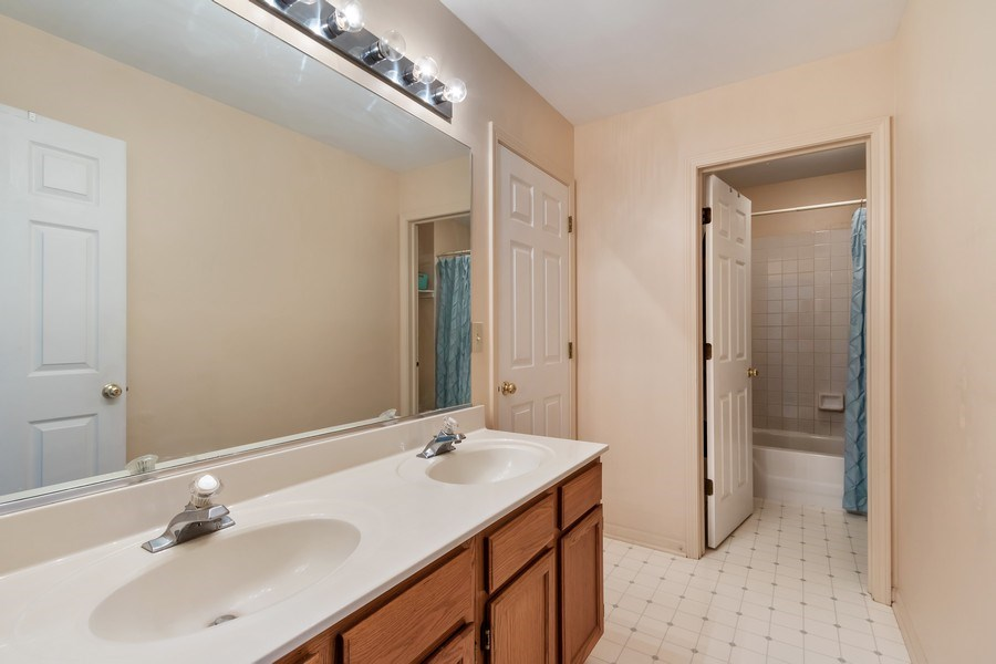 Real Estate Photography - 838 Waterview Drive, Round Lake Park, IL, 60073 - 2nd Bathroom