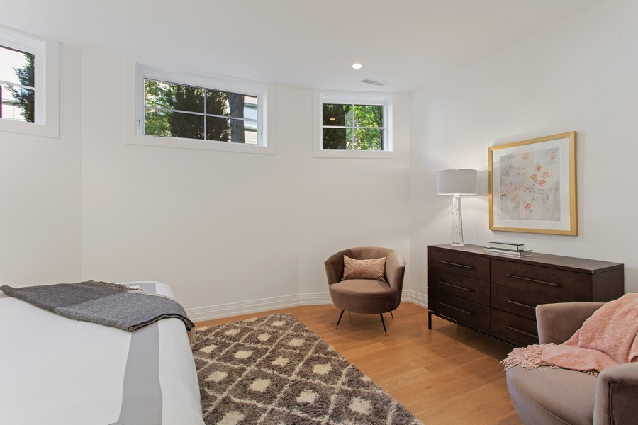 Real Estate Photography - 445 W. Arlington Pl., 1W, Chicago, IL, 60614 - Master Bedroom