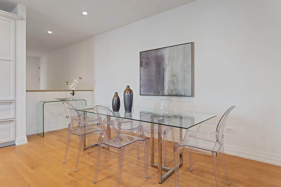 Real Estate Photography - 445 W. Arlington Pl., 1W, Chicago, IL, 60614 - Dining Room