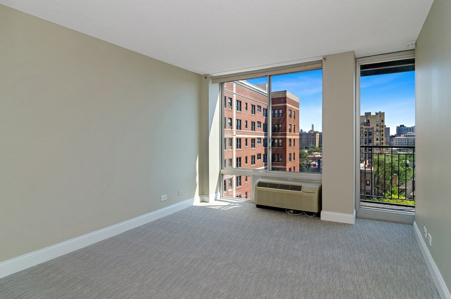 Real Estate Photography - 450 W Briar Pl, Unit 10k, Chicago, IL, 60657 - Bedroom
