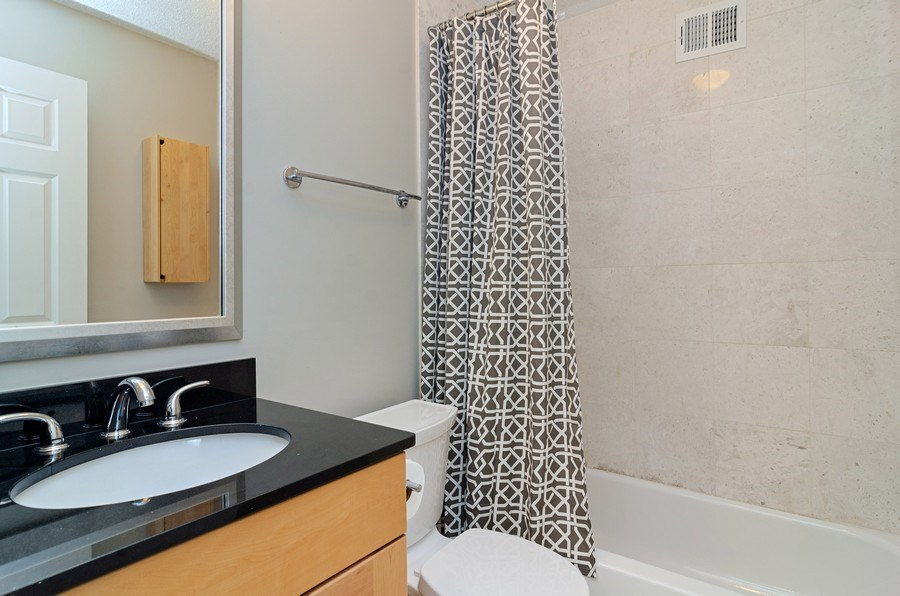 Real Estate Photography - 450 W Briar Pl, Unit 10k, Chicago, IL, 60657 - Bathroom