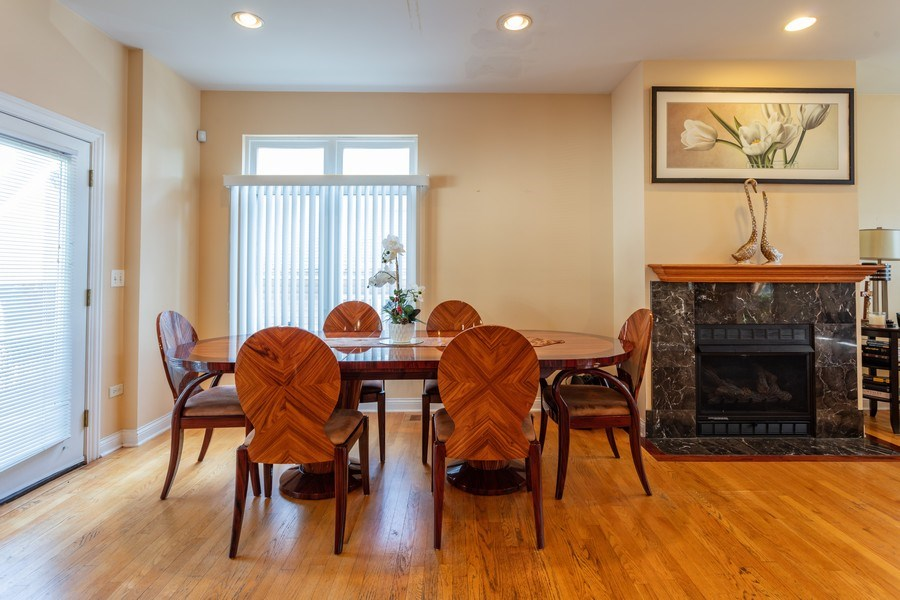 Real Estate Photography - 515 LaPorte Ave, Northlake, IL, 60164 - Dining Room