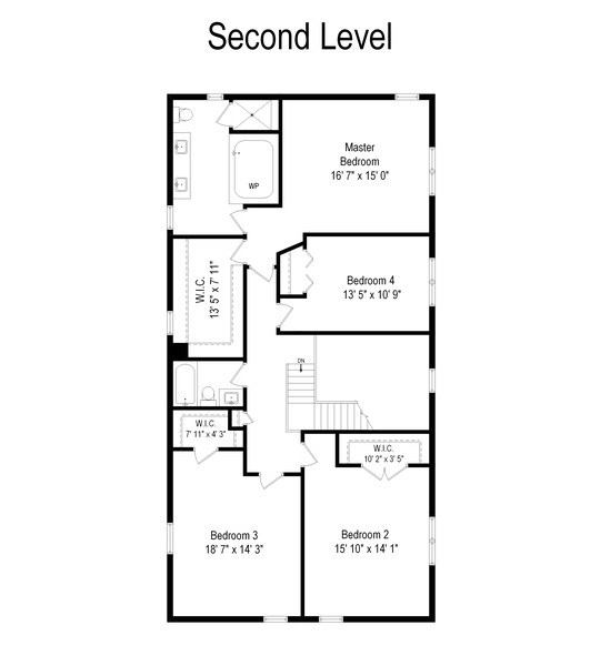 Real Estate Photography - 515 LaPorte Ave, Northlake, IL, 60164 - Floor Plan