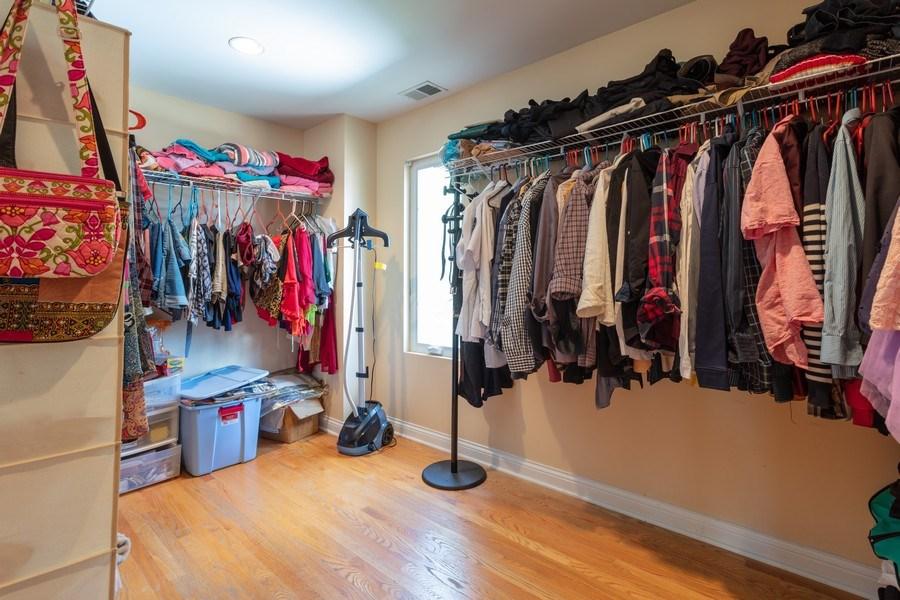 Real Estate Photography - 515 LaPorte Ave, Northlake, IL, 60164 - Closet