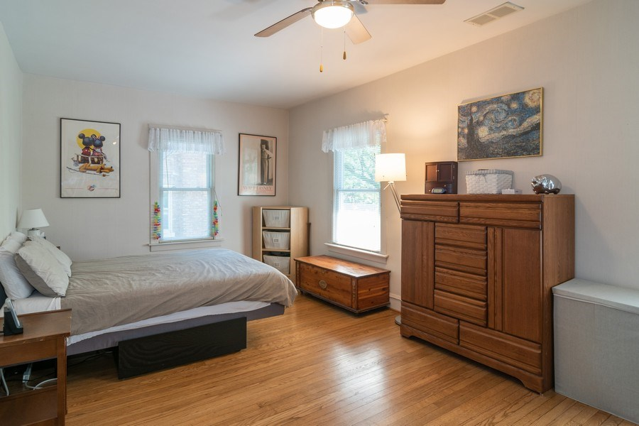 Real Estate Photography - 432 Selborne Rd, Riverside, IL, 60546 - Master Bedroom