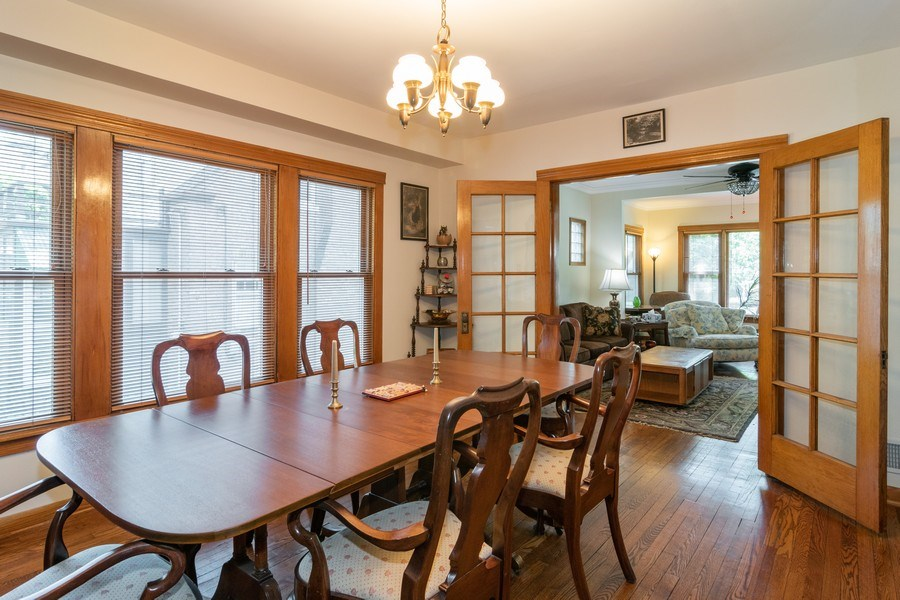 Real Estate Photography - 432 Selborne Rd, Riverside, IL, 60546 - Dining Room