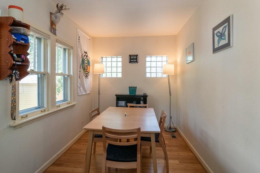 Real Estate Photography - 432 Selborne Rd, Riverside, IL, 60546 - Breakfast Nook
