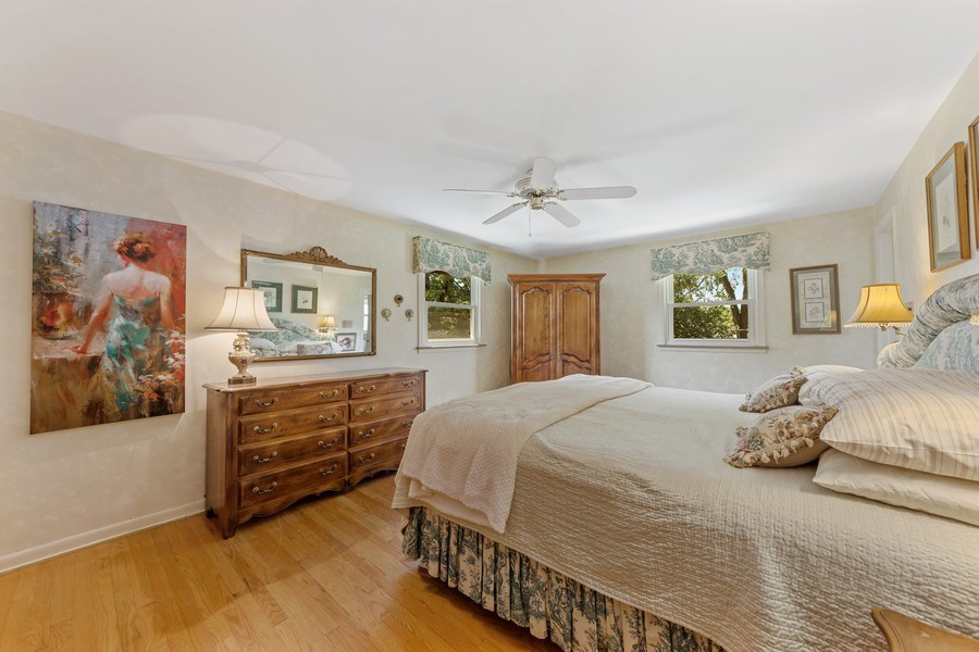 Real Estate Photography - 1307 Cottonwood, Arlington Heights, IL, 60005 - Master Bedroom
