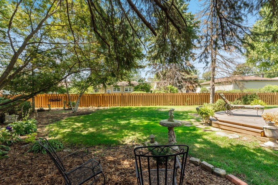 Real Estate Photography - 1307 Cottonwood, Arlington Heights, IL, 60005 - Back Yard