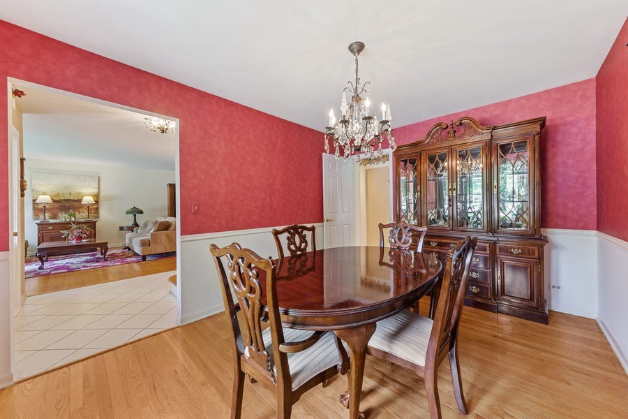 Real Estate Photography - 1307 Cottonwood, Arlington Heights, IL, 60005 - Dining Room