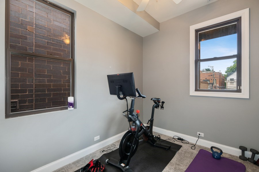 Real Estate Photography - 3417 N Oakley, Chicago, IL, 60657 - 3rd Bedroom